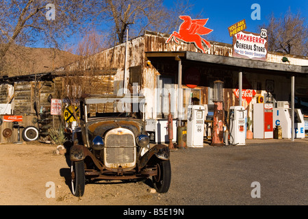 General Store and Route 66 Museum, Hackberry, Arizona, USA, North America - Stock Photo