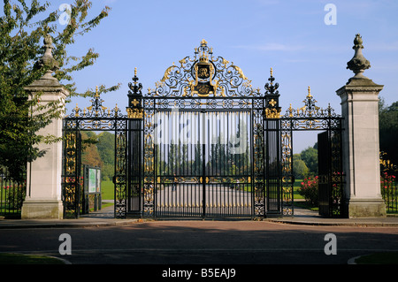 The Jubilee gates Inner Circle Regents Park London - Stock Photo