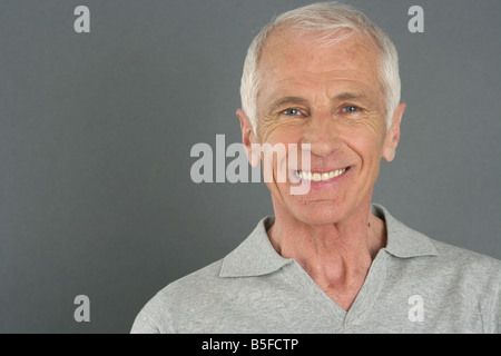 Portrait of an old man - Stock Photo
