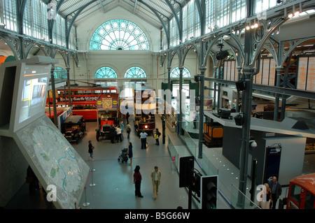 London Transport Museum covent garden great britain - Stock Photo