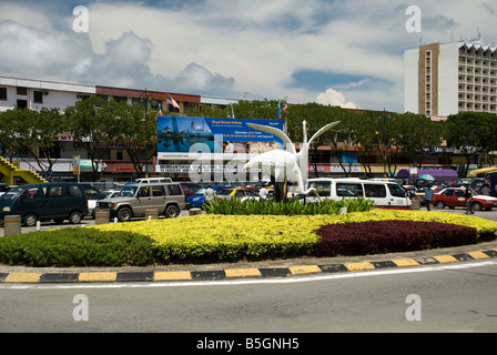 Kota Kinabalu City Scene - Stock Photo