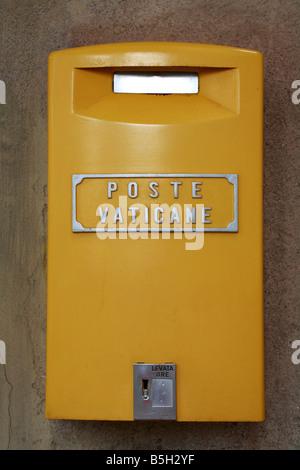 Vatican Post Box Rome Italy - Stock Photo