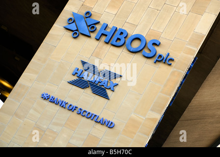 HBOS Head office, Halifax - Stock Photo