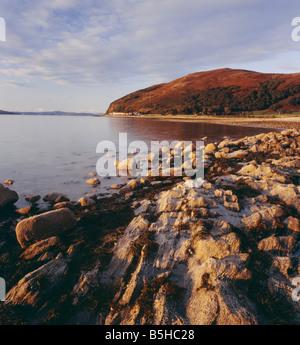 Catacol, Isle of Arran, North Ayrshire, Scotland, UK. - Stock Photo