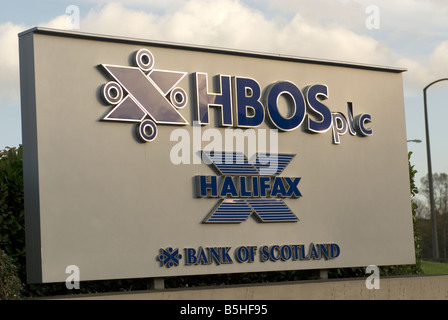 HBOS data center, Halifax - Stock Photo