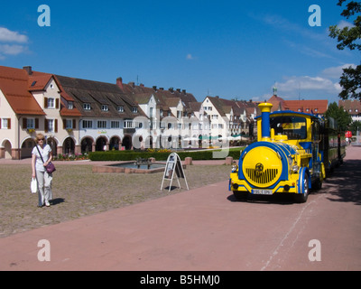 Freudenstadt, a small Black Forest town. - Stock Photo