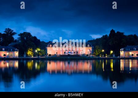 Schloss Benrath in Düsseldorf, Germany - Stock Photo