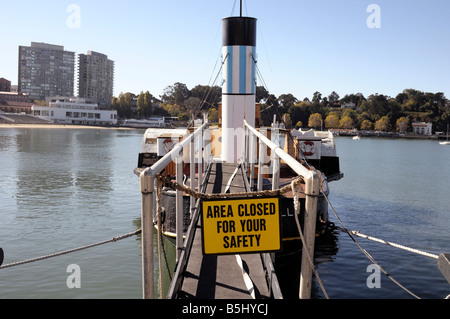 warning sign, closed admittance - Stock Photo