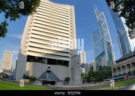 The Hong Kong Club Building,Central,Hong Kong - Stock Photo