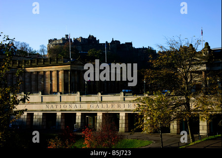 National Galleries of Scotland, Edinburgh, UK - Stock Photo