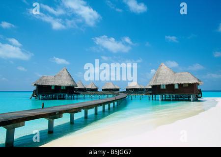 Maldives - Dunikolu Island - Coco Palm Resort - Stock Photo
