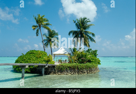 Maldives - Four Seasons Resort - Kuda Huraa Island - Stock Photo