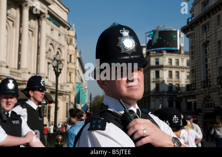 Police, Westminster, London, England UK - Stock Photo