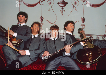 Great Britain - London - Maybelone district - wax figures at Madame Tussaud's wax museum - Stock Photo
