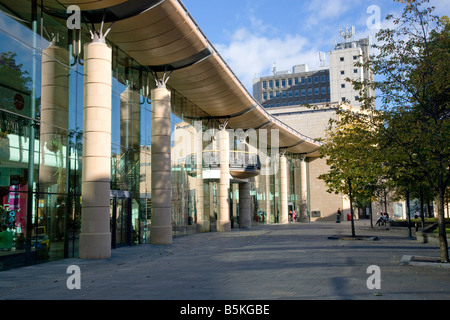 Overgate shopping centre Dundee Scotland - Stock Photo