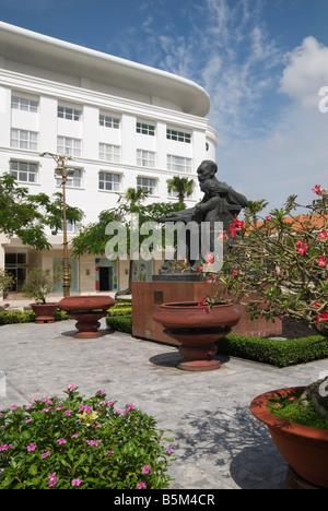 Ho Chi Minh's statue, Ho Chi Minh City, Vietnam - Stock Photo
