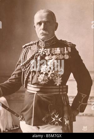 1EN 1333 B1915 E Sir John French Photo 1915 French Sir John Denton Pinkstone Brit field marshal 1913 Commander of - Stock Photo