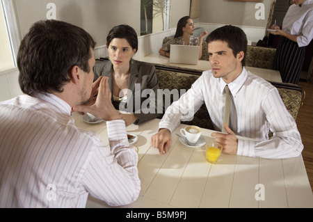 Morning meeting. - Stock Photo