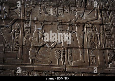 Temple of Amun, Karnak, Luxor, Egypt - Stock Photo