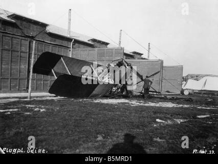 9 1917 10 29 A1 E German Air Force in Udine 1917 First World War 1914 1918 German and Austrian relief attack in - Stock Photo