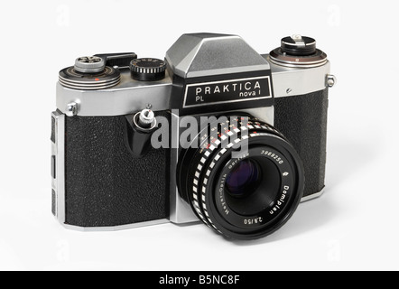 Praktica Nova 1 35mm single lens reflex camera - Stock Photo