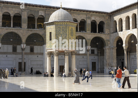 Umayyad Mosque Damascus - Stock Photo