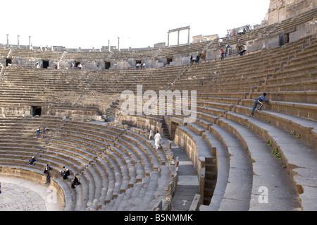 Bosra  roman amphitheatre - Stock Photo