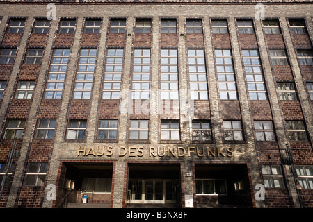 Haus des Rundfunks, Berlin, Germany - Stock Photo