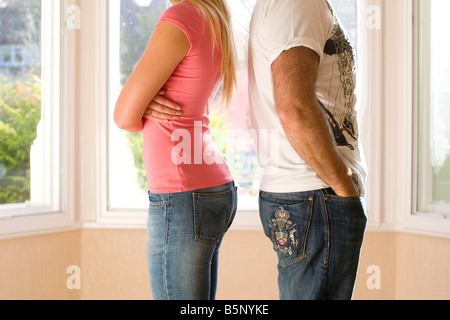 Couple in dispute - Stock Photo