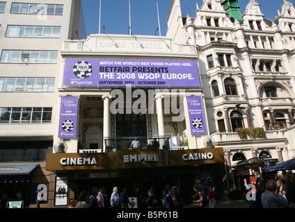 Empire Leicester Square London - Stock Photo