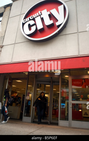 A Circuit City electronics store in New York on Monday November 3 2008 Frances M Roberts - Stock Photo