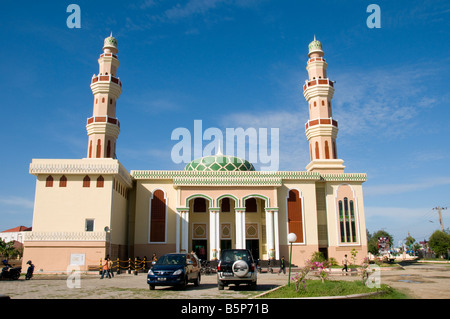 mosque in Banda Aceh, Sumatra, Indonesia - Stock Photo