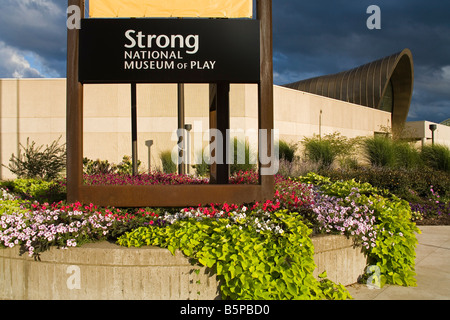 Strong National Museum of Play Rochester New York State USA - Stock Photo