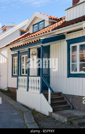 Wooden town house - Stock Photo