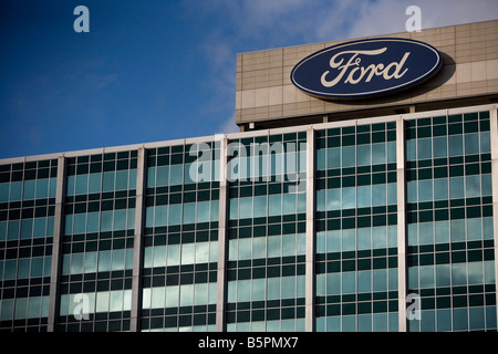 The Ford Motor Company Factory Detroit Michigan Usa