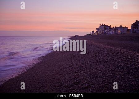Aldeburgh beach - Stock Photo