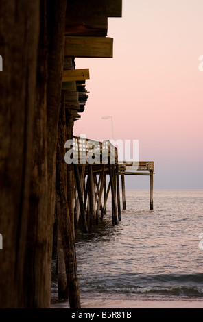 Avon Pier, Hatteras Island, North Carolina - Stock Photo