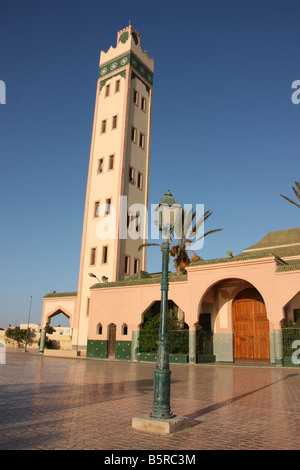 Mosque in Dakhla Western Sahara - Stock Photo