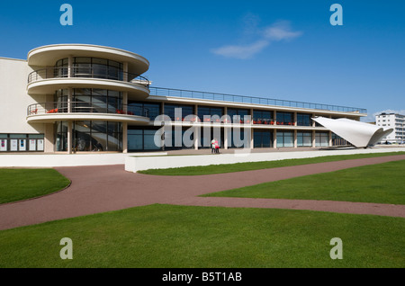UNITED KINGDOM, ENGLAND, 6th September 2008.The De La Warr Pavilion at Bexhill-on-Sea in East Sussex. EDITORIAL - Stock Photo