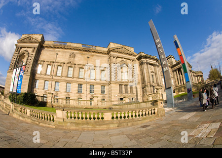 World Museum on William Brown Street Liverpool Merseyside England UK United Kingdom GB Great Britain British Isles - Stock Photo