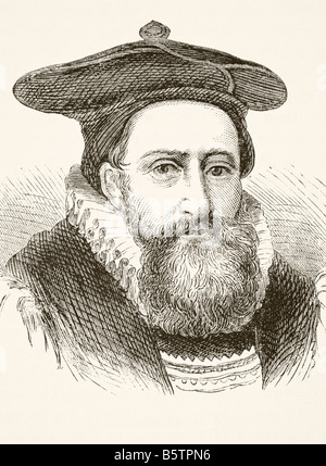 George Abbot 1562 to 1633 Archbishop of Canterbury - Stock Photo