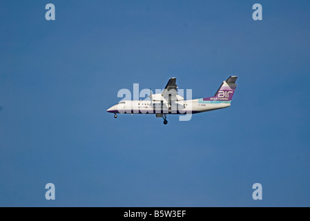 Air Southwest Bombardier Dash 8 311 Aircraft G WOWE - Stock Photo
