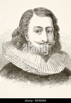 Sir John Eliot 1592 to 1632 English statesman - Stock Photo