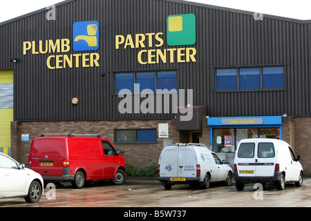 The Plumb Center, a Plumbing and building materials firm owned by Wolseley PLC - Stock Photo