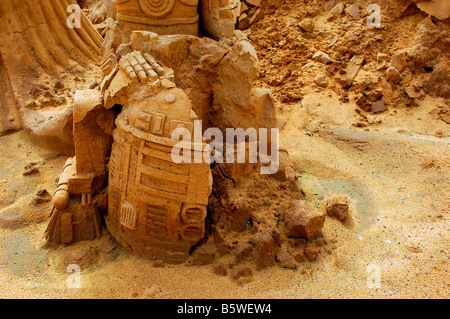 R2D2 star wars character robot android george lucas - Stock Photo