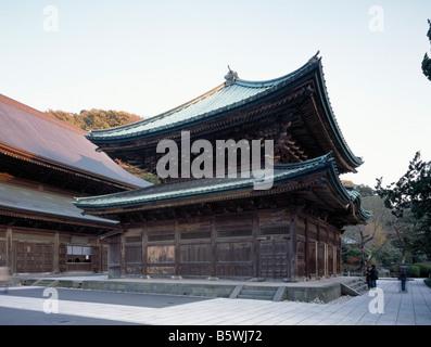 Kencho-Ji Kamakura Japan Butsuden - Stock Photo