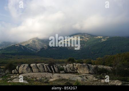 Sierra de Guadarrama, Cañada Real Segoviana - Stock Photo