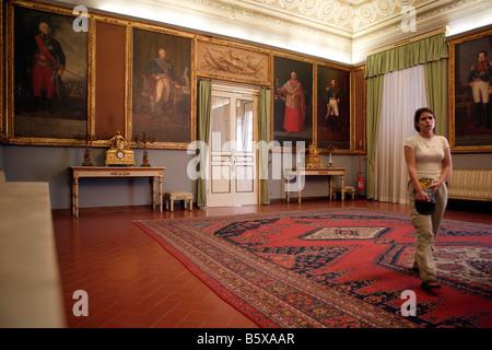 Royal Apartments, Norman Palace, Palermo, Sicily - Stock Photo
