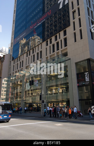 In June 2008 Apple opened its first Australian Apple store in George street, Sydney, NSW. - Stock Photo