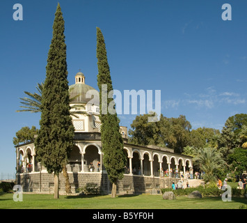 The Church at the  Mount of Beatitudes - Stock Photo